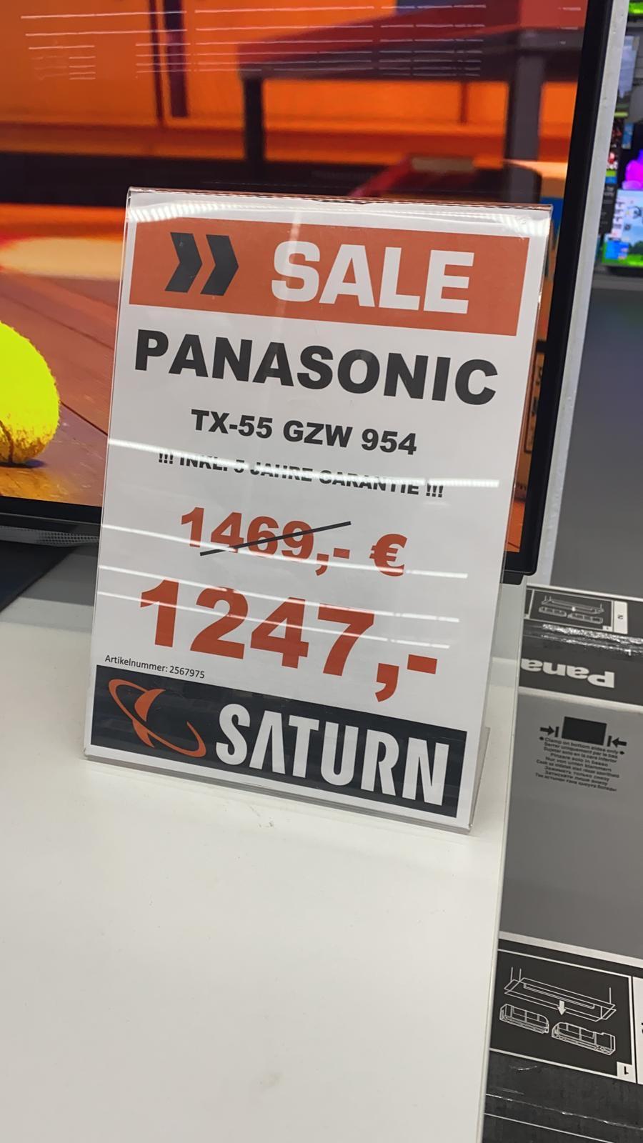 "Panasonic TX-GZW954 55"" OLED (Saturn Berlin Spandau)"