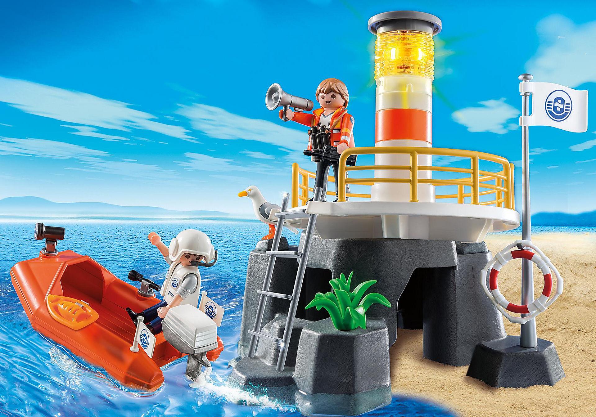 Playmobil Leuchtturm Set für 14,54€ + Versand