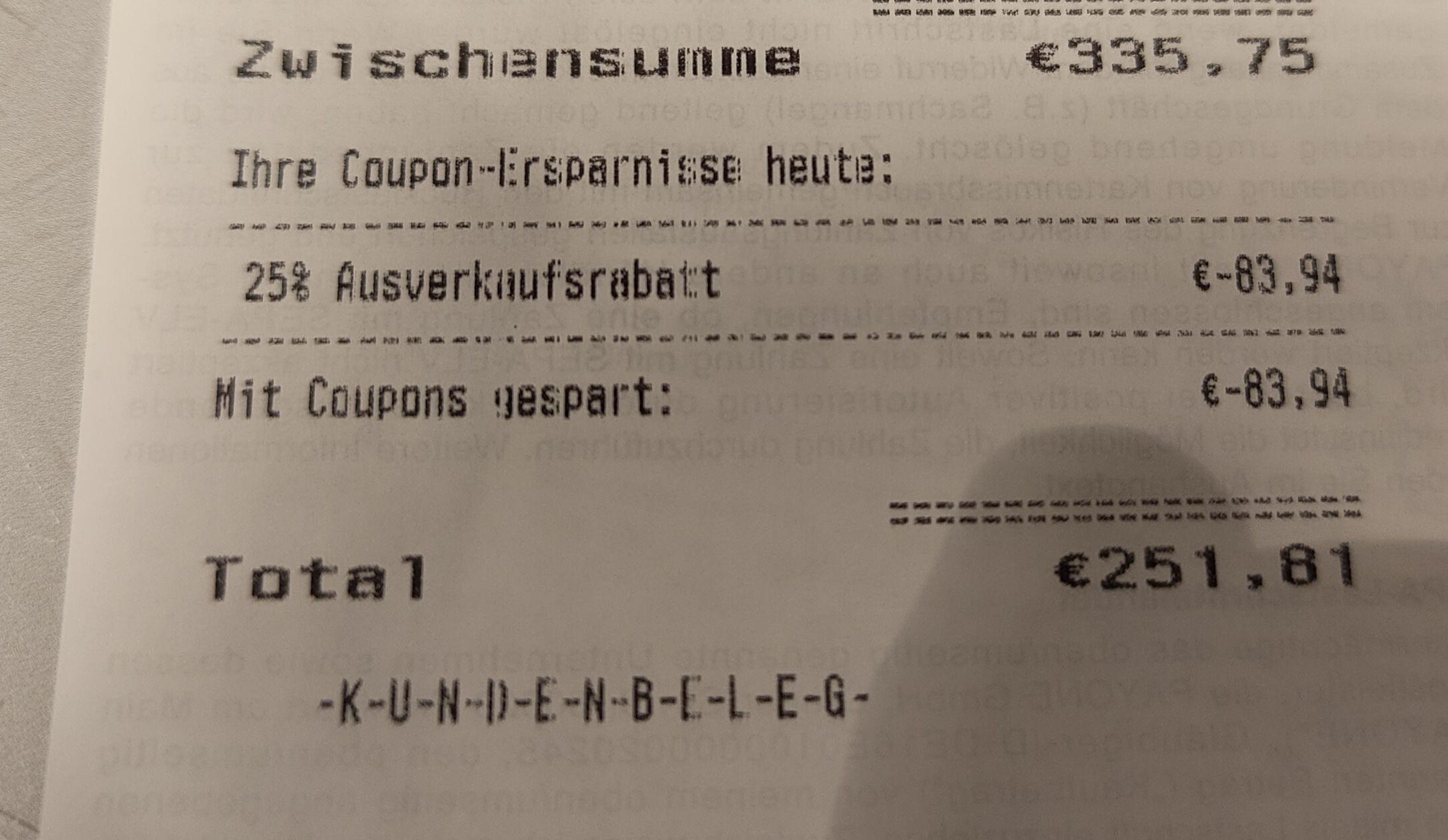 Rossmann Lokal Libori Gallerie Paderborn Ausverkauf 25 Auf Alles Keine Coupons Mydealz De