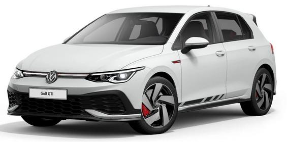 Gewerbeleasing: VW Golf 8 GTI Clubsport 2.0 / 300 PS für 163€ im Monat netto / eff. 183,79€ netto - LF 0,47, GKF 0,53