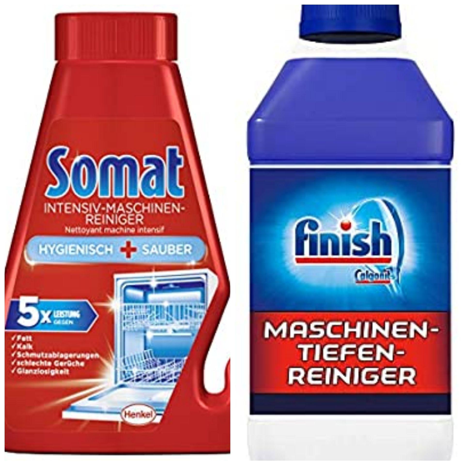 Somat Intensiv oder Finish Maschinenreiniger 250 ml, gegen Fett und Kalk + evtl. kombinierbar mit Somat Treueaktion - Prime *Sparabo*