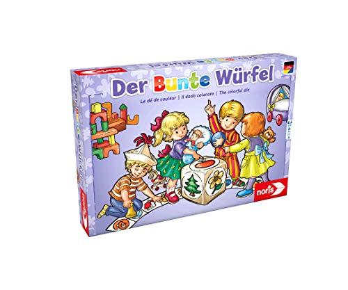 [Amazon Prime] Noris 606011289 Der Bunte Würfel, der fröhliche und kindgerechte Würfelspiel Klassiker für Klein und Groß, ab 3 Jahren