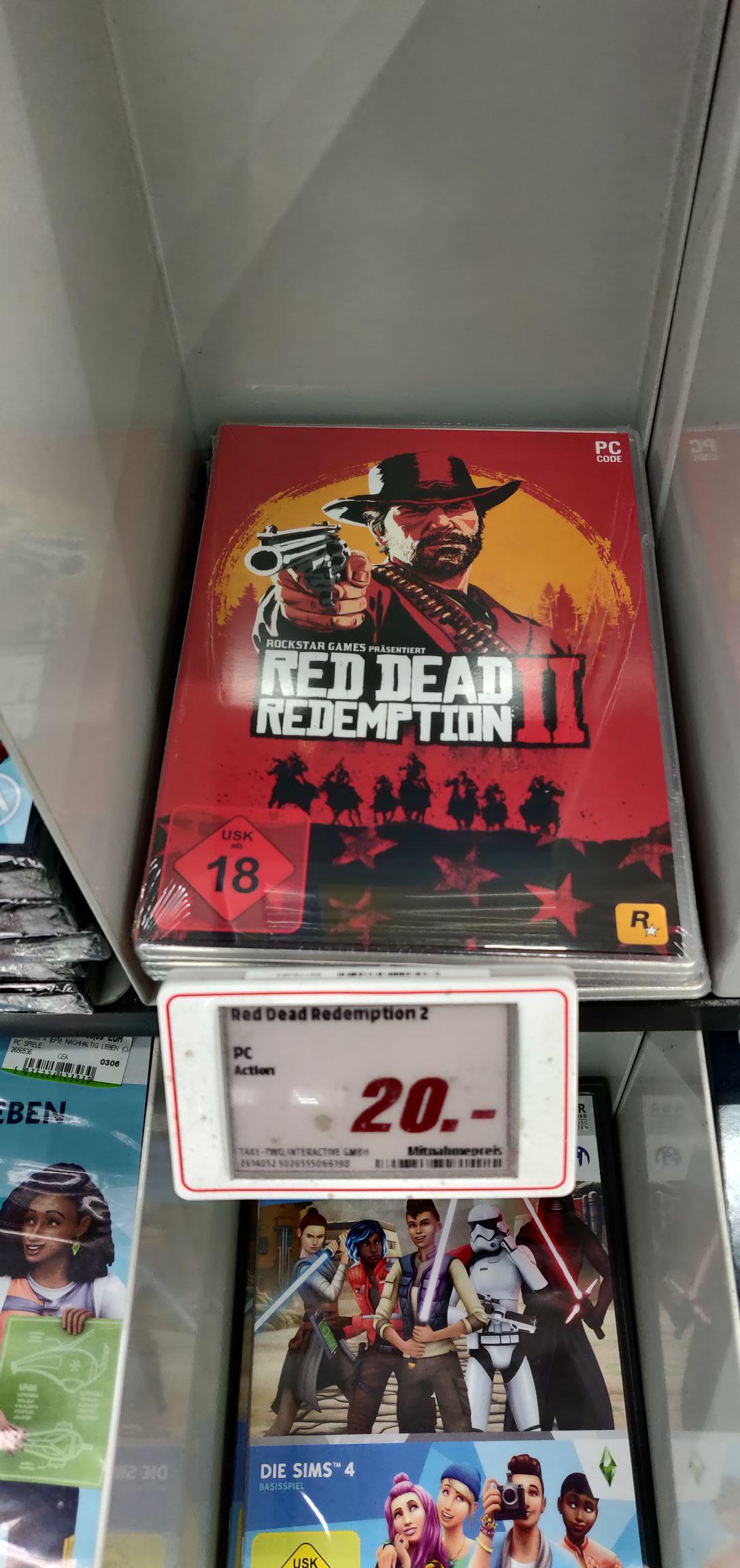 [Lokal] Mediamarkt Paderborn - Red Dead Redemption 2 PC