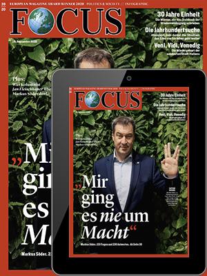 FOCUS Print + Digital mit 135 € BestChoice Gutschein