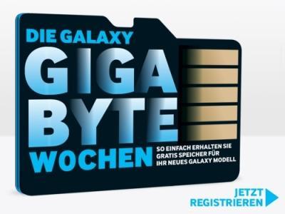 Samsung Galaxy Produkt kaufen und kostenlos eine microSD bis 64GB kostenlos dazu bekommen