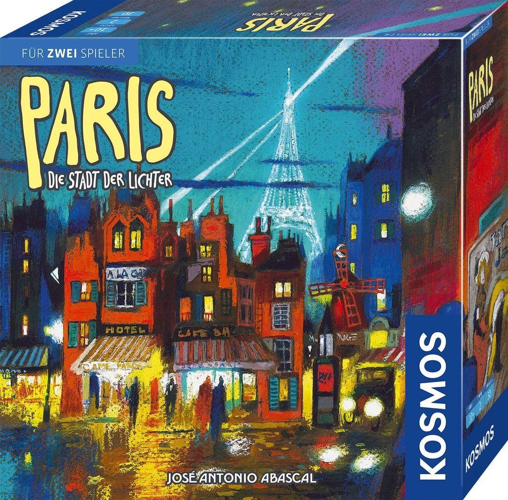 Paris - Die Stadt der Lichter (Brettspiel / Gesellschaftsspiel)