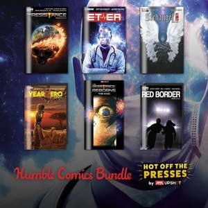 Humble Comic Bundle: The Resistance, Archangel 8, Hotell, Year Zero und Red Border