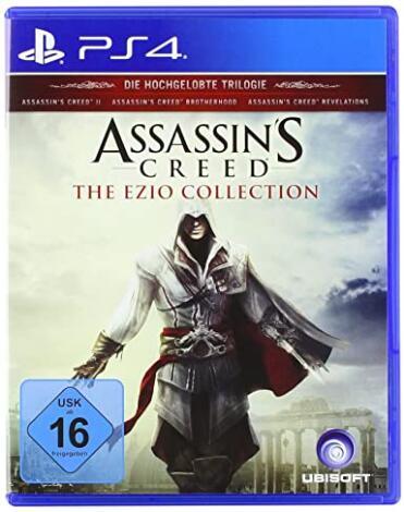 Assassin's Creed Ezio Collection (PS4) für 16,07€ inkl. Versand (Amazon Prime)