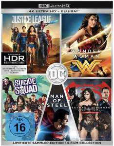 DC 5-Film Collection [4K-Blu-ray]