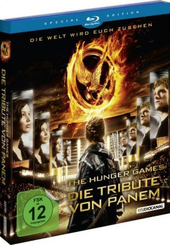 Die Tribute von Panem Special Edition [Bluray] für 9,92€ @Boomstore