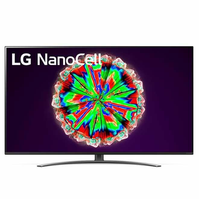 LG 55NANO816NA NanoCell LCD TV (Flat, 55 Zoll / 139 cm, UHD 4K, SMART TV, webOS 5.0 (AI ThinQ)) [Expert Technomarkt]