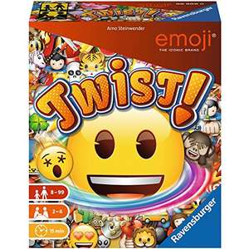 [Amazon Prime] Ravensburger 26753 - Emoji Twist! Familienspiel