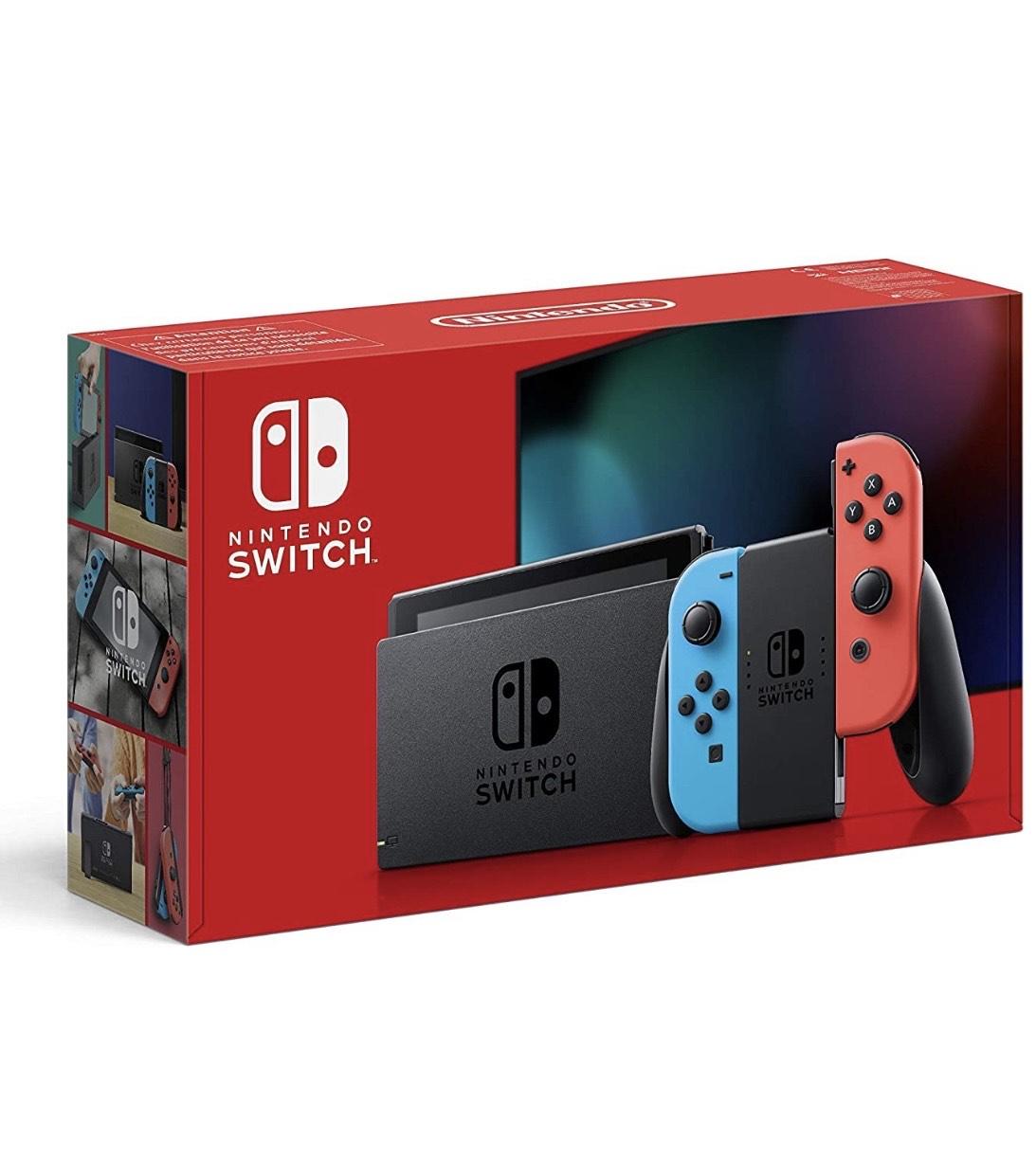 Nintendo Switch für 306,87€/ Switch Lite für 193,50€ bei Amazon