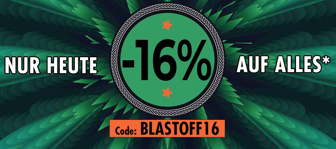 Nuclear Blast -16% AUF ALLES* | Code: BLASTOFF16 | Nur heute!