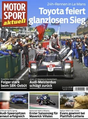 Motorsport aktuell Abo (50 Ausgaben + weitere 4 Ausgaben) durch Rabatt für 19,95 €