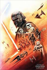 Star Wars Poster 61 x 91.5cm / The Rise of Skywalker / Amazon [EMP]