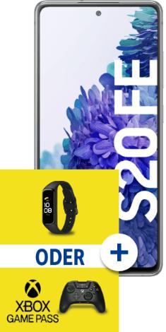Samsung Galaxy S20 FE 128 GB in 1GB Allnet-Flat Schubladenvertrag mit Zugabe