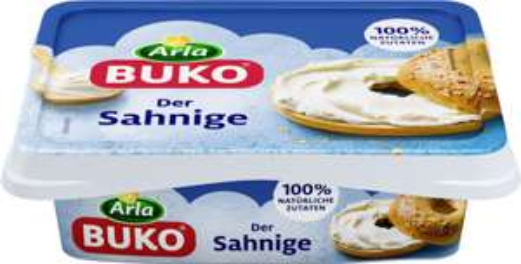 Arla BUKO Frischkäse 200g für effektiv 0,36€ mit Marktguru Cashback (3x einlösbar) [REWE]