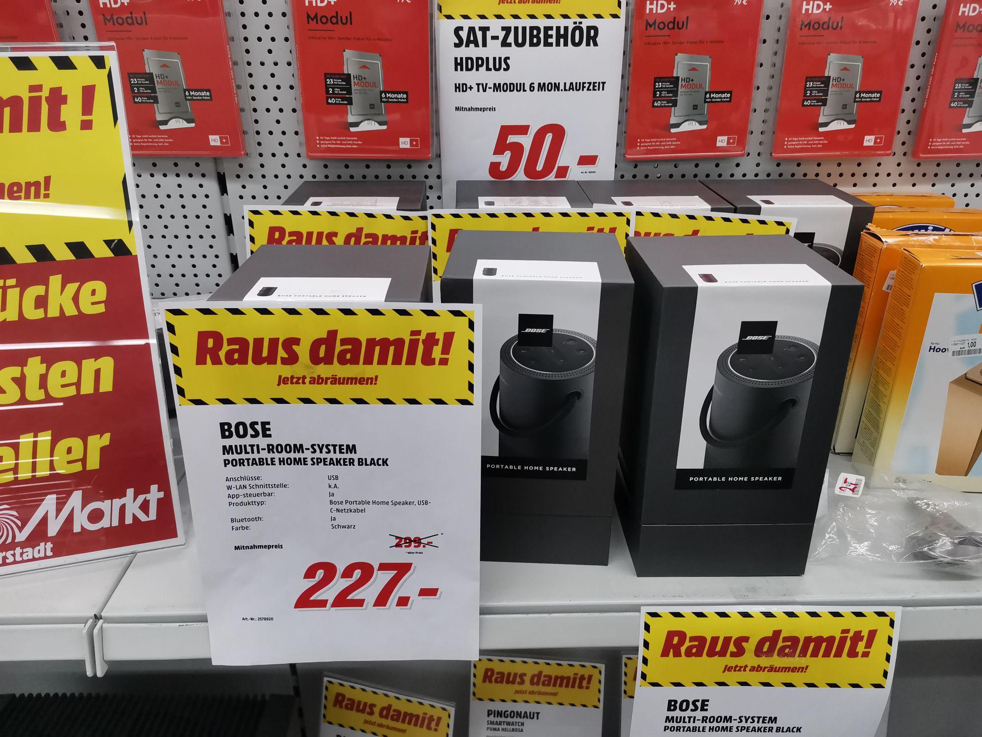 Lokal Media Markt Weiterstadt Bose Portabel Home Speaker