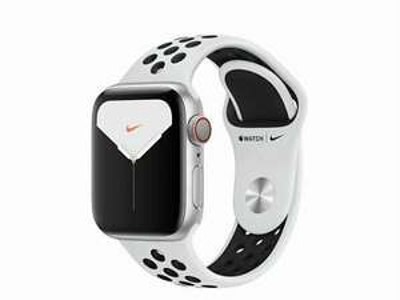 Apple Watch Series 5 Nike+ GPS + LTE 40mm Space Grau Anthrazit/Schwarz