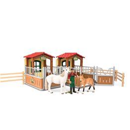 SCHLEICH 72116 - Farm World - Besuch im Offenstall für 22,50€ bei Rossmann oder für 24,89€ liefern lassen