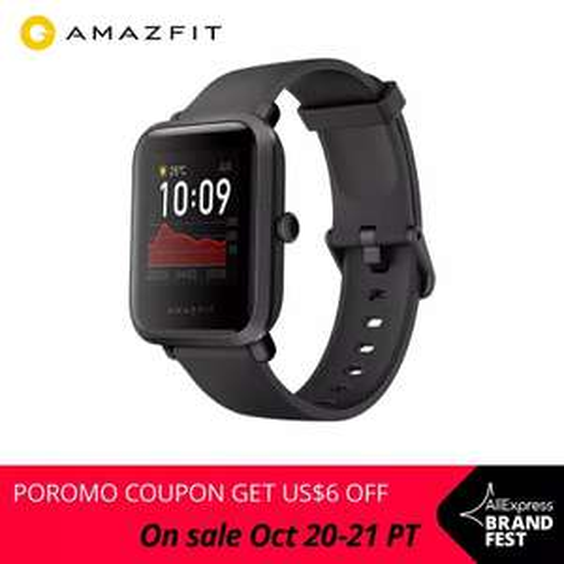 "Huami Amazfit BIP S: Smartwatch - Versand aus CN (1,28"" Display, 40 Tage Akku, 10 Sportmodi, GPS/Glonass)"