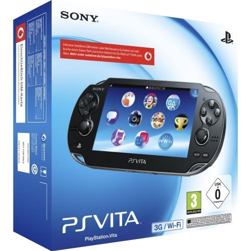 SONY PlayStation Vita 3G + WiFi mit 2 Spielen + 4GB Memory Card für 197,99€