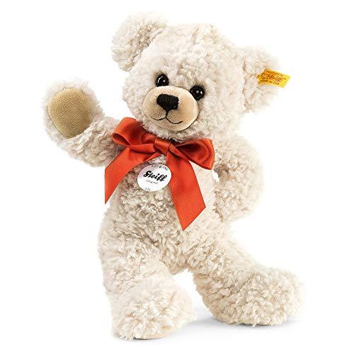[Amazon] Steiff Lilly Schlenker-Teddybär - 28 cm - Teddybär mit roter Schleife - Kuscheltier für Kinder - weich & waschbar - Creme (111556)