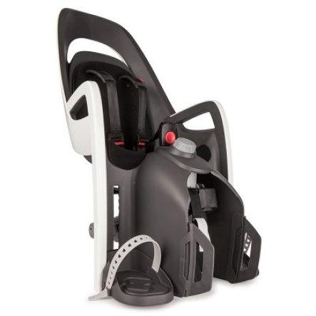 hamax Fahrradsitz Caress mit Gepäckträgeradapter | Stiftung Warentest Note 2,2 (gut)