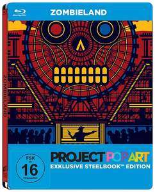 Diverse Blu-ray Steelbooks bei Alphamovies ab 4,99 Euro - z.B. Illuminati - Project Popart Steelbook Edition [Blu-ray]