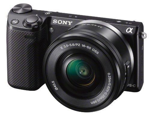 Sony NEX 5R-LB Systemkamera + SEL-P 16-50mm Objektiv
