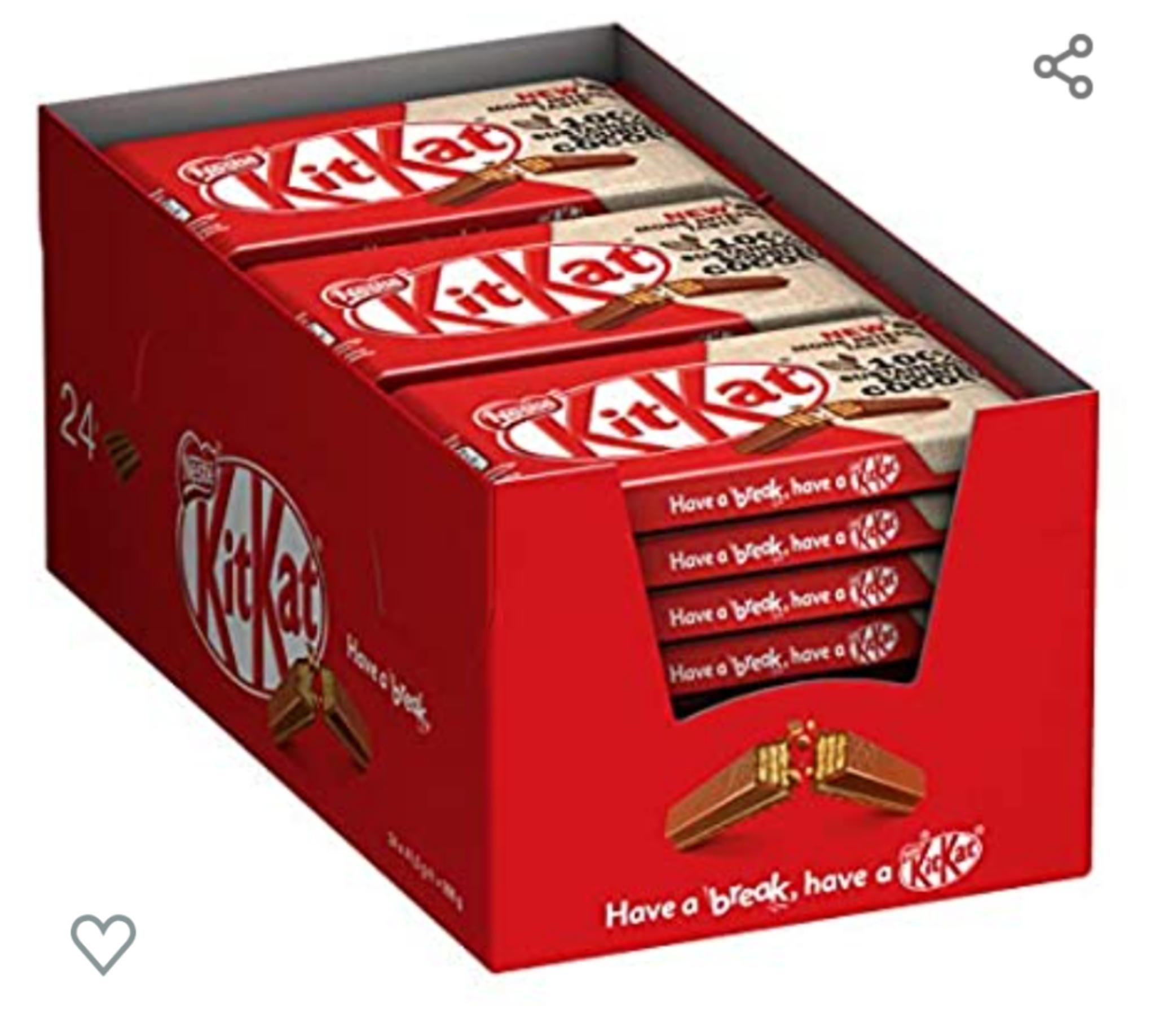 Amazon Prime Kitkat Schokoriegel 24x41,5g