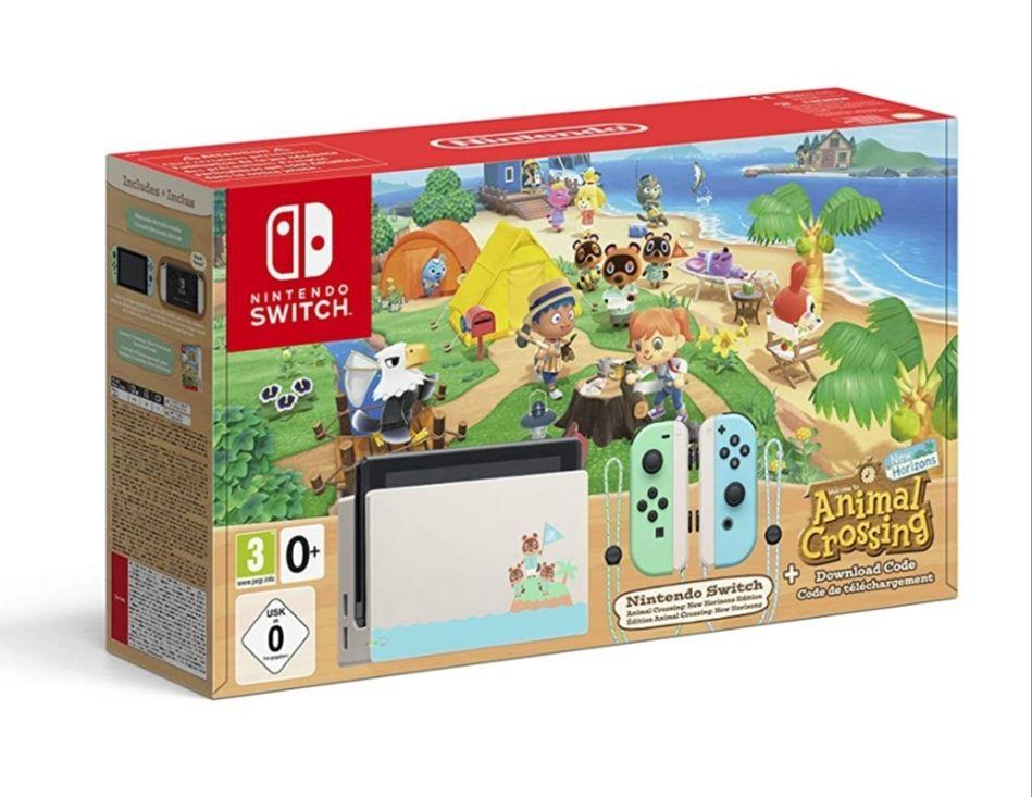 Nintendo Switch Animal Crossing New Horizons-Edition (Ab Freitag auch 316,89€ möglich)