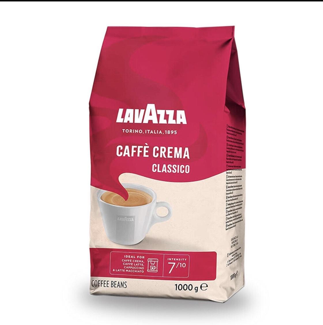 [Amazon Prime Sparabo] Lavazza Kaffeebohnen - Caffè Crema Classico, 1kg