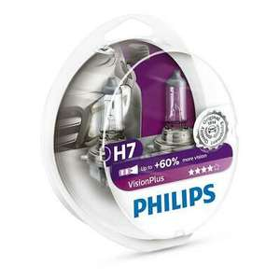 Lokal ATU- Filialen (über eBay): 2 Stk Philips VisionPlus (+60%) H7