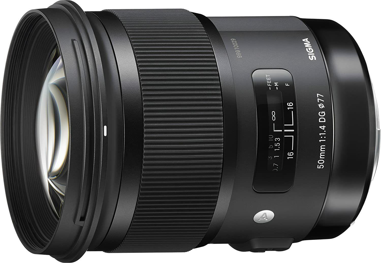 Sigma Art 50mm 1.4 DG HSM Objektiv für Nikon F (Amazon.it)