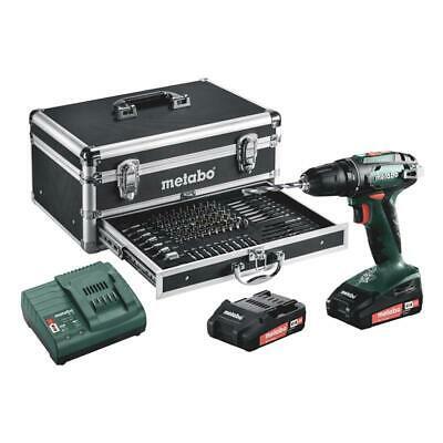 Metabo Akku Bohrschrauber BS 18 Set Mobile Werkstatt 18 V inkl. 2x 2,0 Ah mit Koffer für 125,50€ [Ebay]