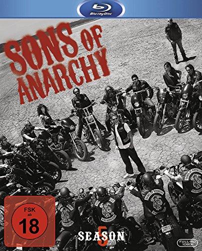 Sons of Anarchy Staffel 5 Blu- Ray Amazon (für Prime- Nutzer = 6,99 €)