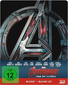 Avengers- Age of Ultron Blu- Ray (plus 3D) Steelbook Edition Expert