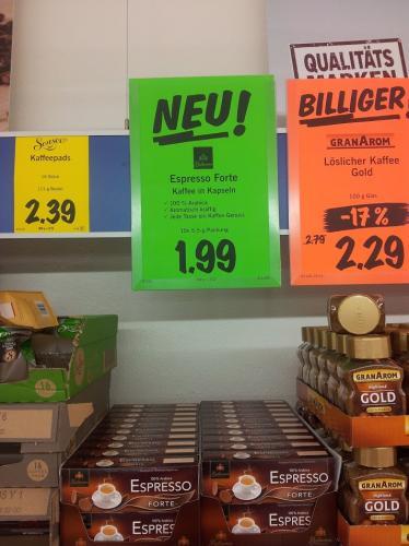 Lidl Espresso - Günstige Nespresso Alternative für 1,99/10 Stck.