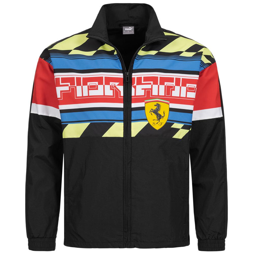 PUMA x Scuderia Ferrari Street Motorsport Woven Herren Jacke (Gr. XS - XXL) für 43,94€