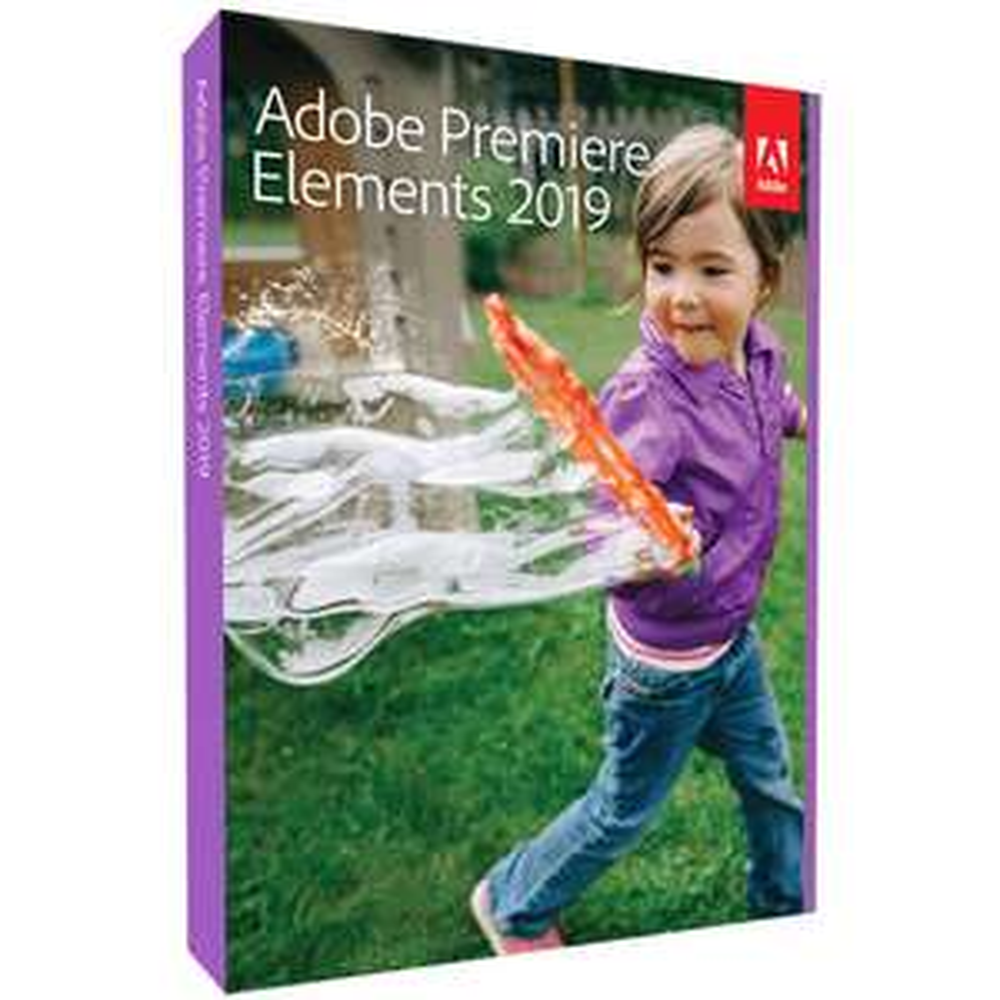 Adobe Premiere Elements 2019 - Box-Pack Upgrade, 1 Lizenz Windows, Mac Videobearbeitung