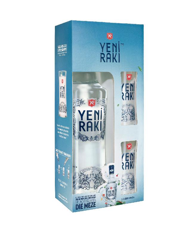 YENI RAKI 0,7L 45% Geschenkset mit 2 Gläsern ab 29.10. für nur 10,88€ [Kaufland]