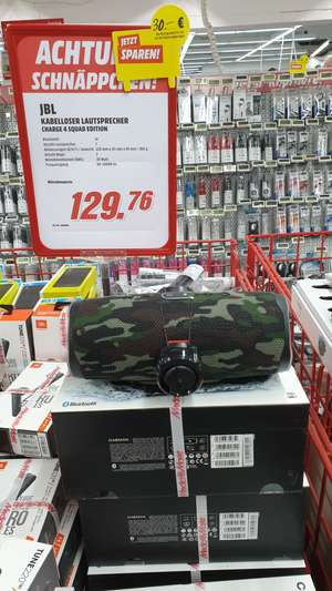 Lokal - JBL Charge 4 Squad Edition & Innogy SmartHome Starter kit 99€ MM Aachen AC