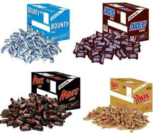 Halloween Special z.B. 150 Riegel Bounty/Snickers/Mars/Twix, Center Shocks, Chupa Chups, Skittles - Prime*Sparabo*
