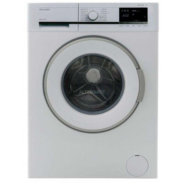 Sharp ES-GFB7143W3-DE Waschmaschine 7 KG EEK: A+++ 1400 UpM Display weiß [Alternate]