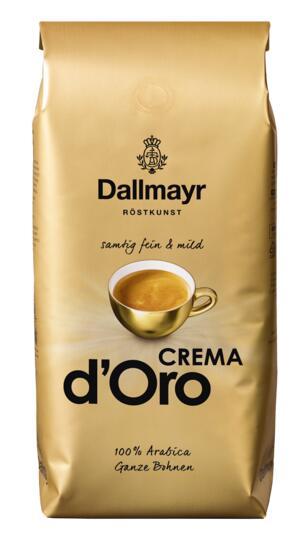 Dallmayr Crema dOro ganze Kaffeebohnen 1 kg - Netto