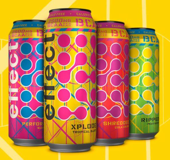 effect Energy Drink 0,5L Dose, neue Sorten mit BCAA, ohne Zucker, vegan ab 29.10. für 0,97€ / 12er Pack für 11,64€ [Kaufland]