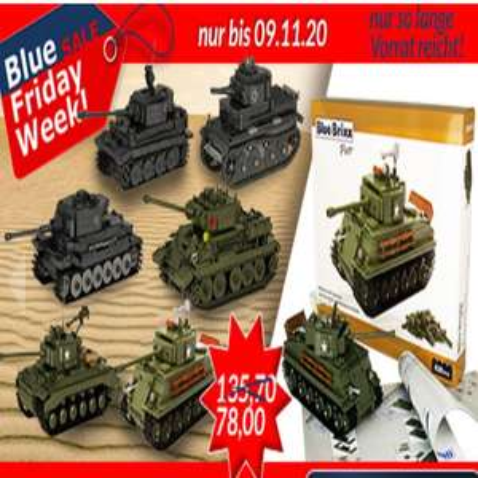 [Klemmbausteine] Blue Friday Sale bis 9.11. @ BlueBrixx