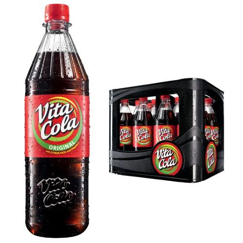 """Vita Cola oder Limo Kasten 12x1L ab 26.10. für nur 6,81€ zzgl. Pfand / Literpreis 0,57€ [EDEKA """"NST""""]"""